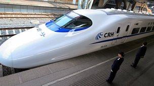 China's bullet train