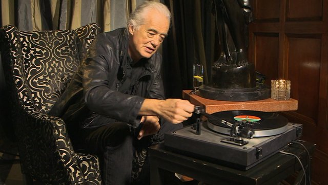 Jimmy Page How We Wrote Stairway To Heaven Bbc News