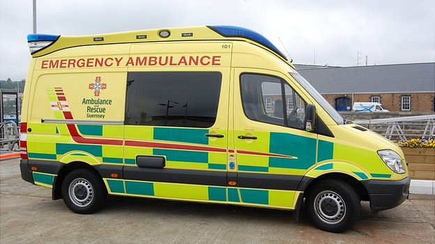 guernsey states ambulance contract worth bbc news. Black Bedroom Furniture Sets. Home Design Ideas