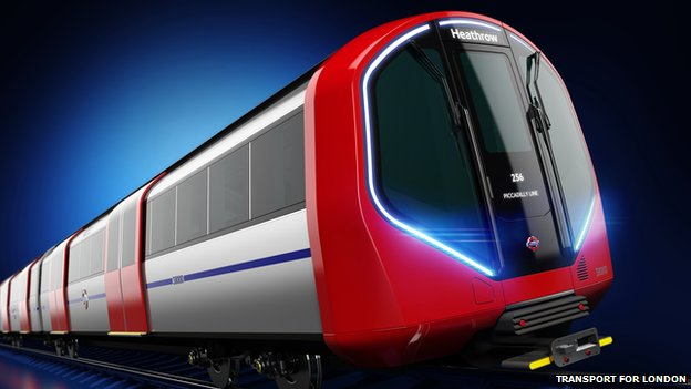 78116900 78116899 - New London Underground trains