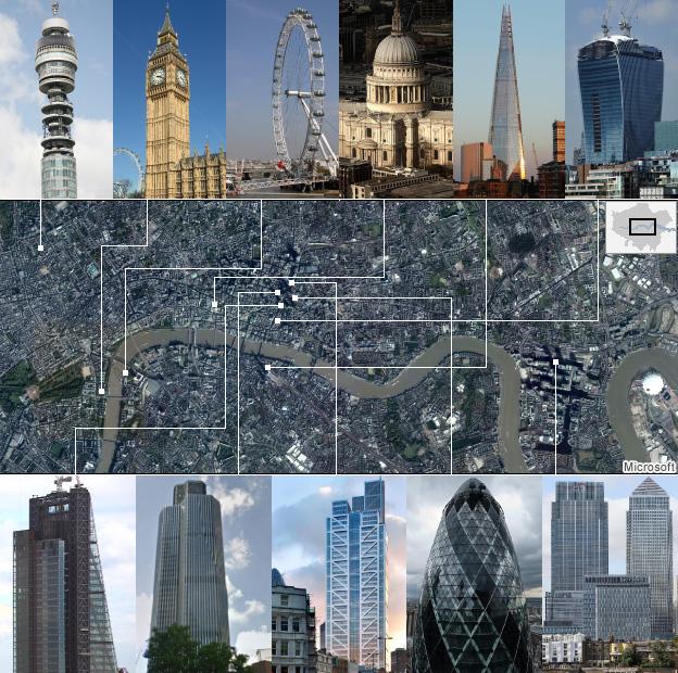 LondonSkylineMap