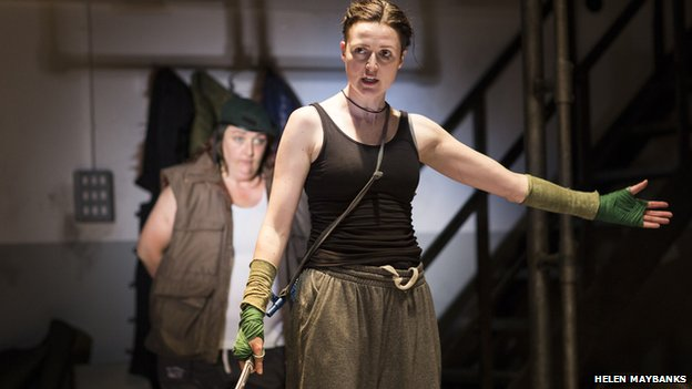 Clare Dunne as Hal in Henry IV
