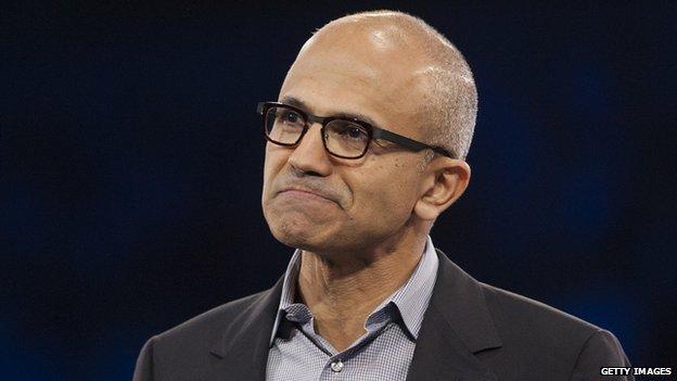 CEO di Microsoft Satya Nadella.