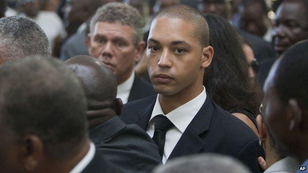 Francois-Nicolas Duvalier, Baby Doc's son