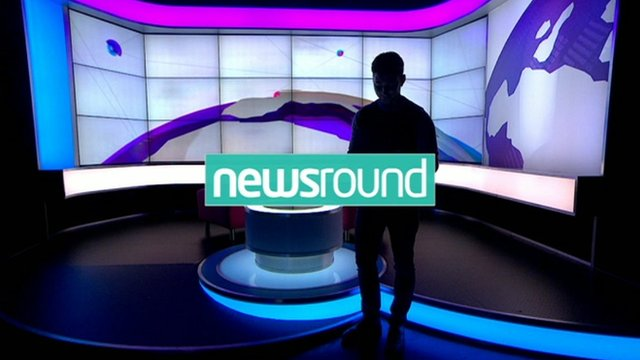 New look and set for Newsround - CBBC Newsround