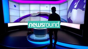 Ricky Boleto in the Newsround studio