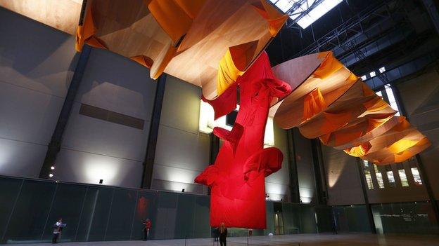 Richard Tuttle commission in Tate Modern's Turbine Hall