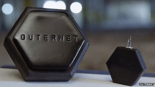 Outernet aims to provide data to the net unconnected