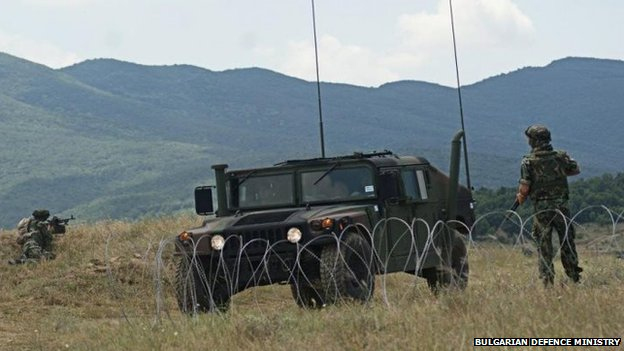 Joint US-Bulgarian military exercise (July 2013)