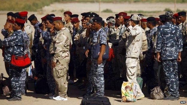 Shia militia volunteers