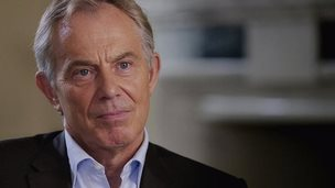Tony Blair, autumn 2014