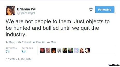 Brianna Wu tweet