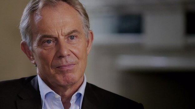 Tony Blair, autumn 2014
