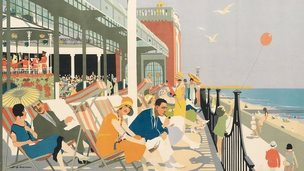 A rail poster of Clacton-on-Sea