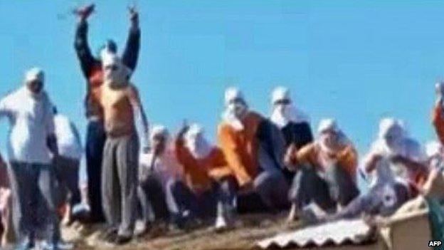 Guards held hostage riot Brazil's