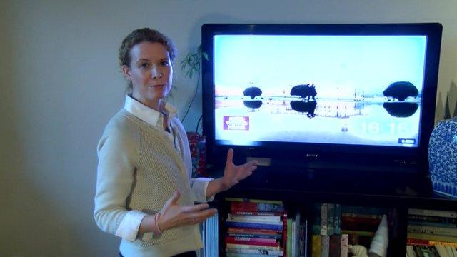 The BBC's Celia Hatton