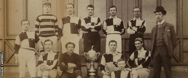 Arthur Wharton played as an amateur for Darlington