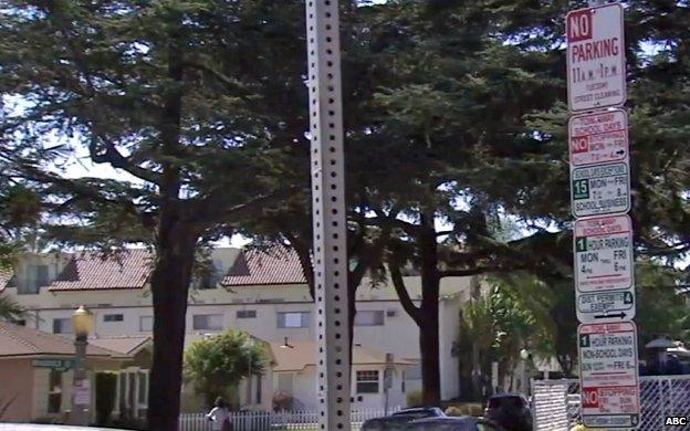 Street sign in Culver City, California