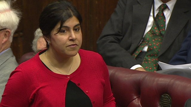 Former Foreign Office Minister Baroness Warsi