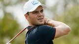 Martin Kaymer hits a drive at the Port Royal Course in Bermuda