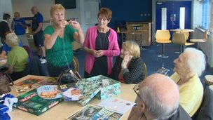 Everton in the Community's dementia support group