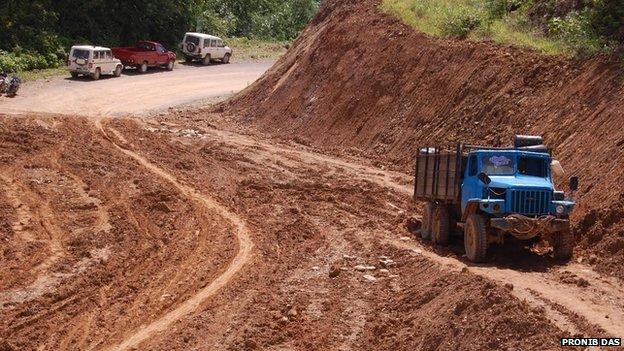 Arunchal Pradesh road