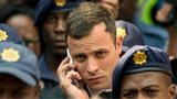 Oscar Pistorius leaves court in Pretoria (13 October)