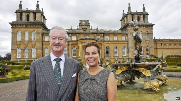 Duke Of Marlborough S Death Announced By Blenheim Palace