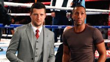 Carl Froch and James DeGale