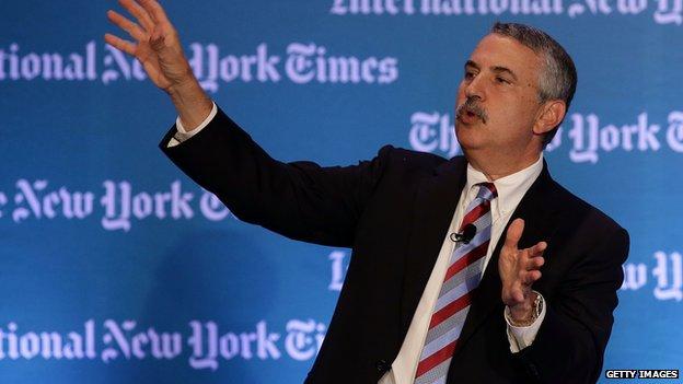 New York Times columnist Tom Friedman
