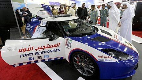 Gitex: The world's fastest ambulance - BBC News