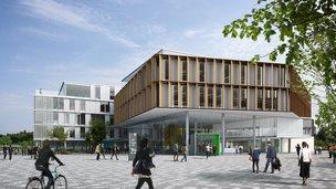 Learning Commons, Waterside, Northampton University