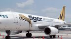 Tiger Airways plane