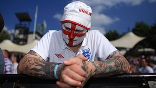 disappointed England fan