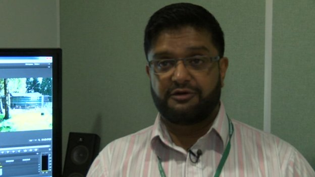 Health campaigner Shahid Mohammed