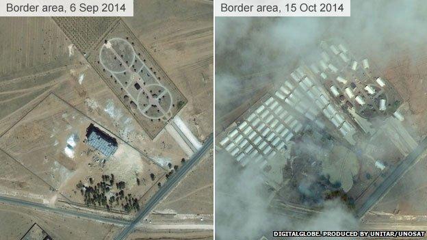 Kobane refugee camp