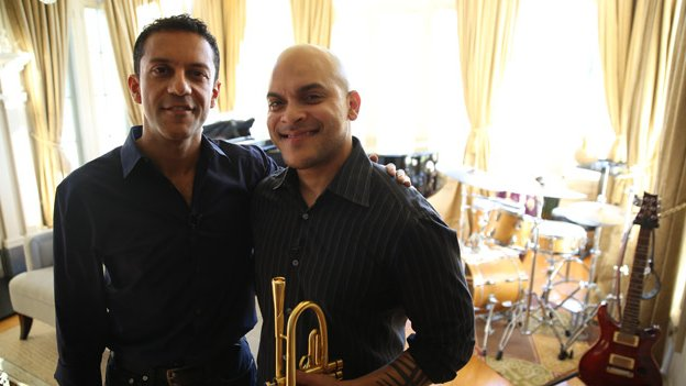 Aleem and Irvin Mayfield