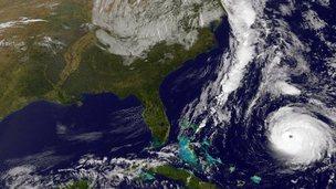 Hurricane Gonzalo 17 October 2014
