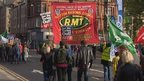 Campaigners on march