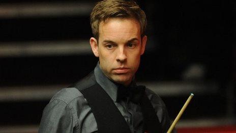 Snooker player Ali Carter