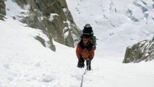 Mountaineer Nigel Vardy