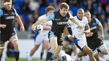 Glasgow scored three tries in the first half