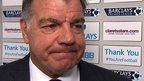 VIDEO: Allardyce buoyed by birthday win