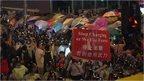 Hong Kong protestors retake Mong Kok