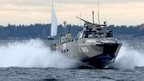 Swedish Navy fast-attack craft patrols in the Stockholm Archipelago