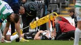 Dan Baker receives treatment