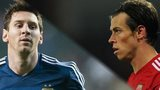 Lionel Messi and Gareth Bale
