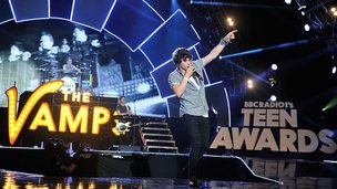 The Vamps performing at Radio 1 Teen Awards
