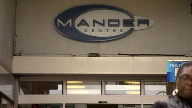 Mander shopping centre, Wolverhampton