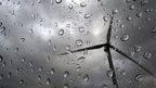 Rain and wind farm